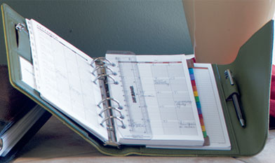 graphic relating to Day Runner Binder named Within just look of Planner Nirvana: Paper Planners v PDAs