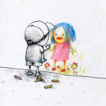 By French illustrator and street-artist Dran