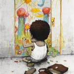 By French illustrator and street-artist Dran.