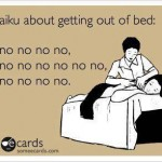 haiku-getting-out-of-bed