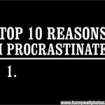procrastination-top-ten-reasons