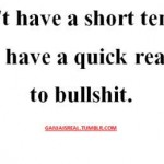 short-temper