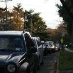 Morning gas line