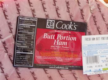 Ham - Butt Portion
